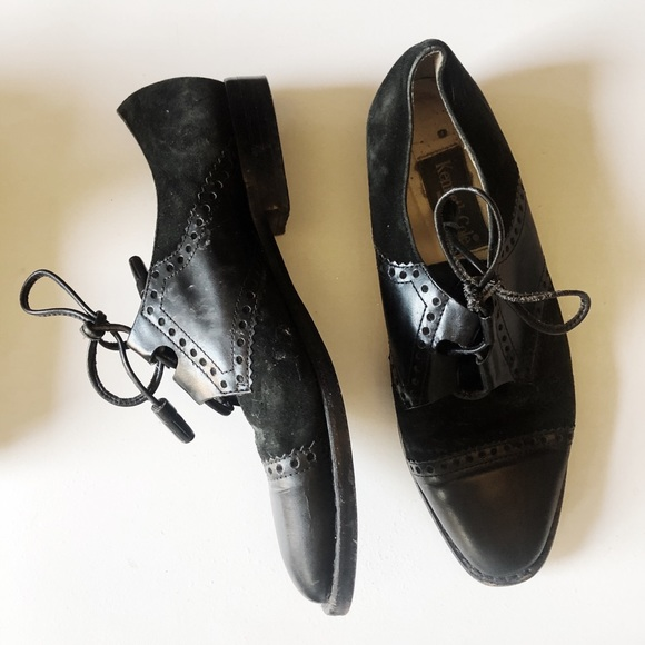 Kenneth Cole Women's Black Oxford Shoes